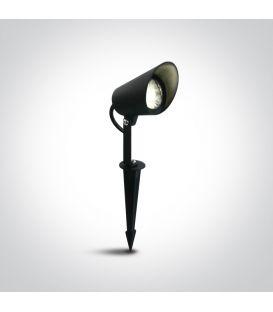 8W LED Įsmeigiamas šviestuvas Black IP65 67458/B/W