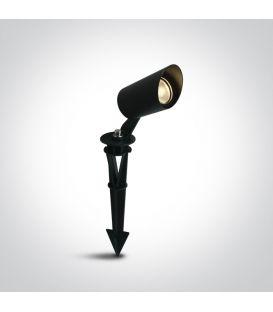 3W LED Įsmeigiamas šviestuvas Black IP67 67456/B/W