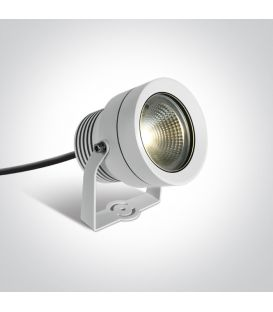 20W LED Įsmeigiamas šviestuvas White IP65 7047/W/W