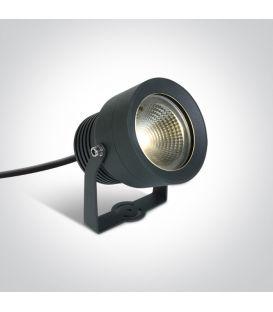 20W LED Įsmeigiamas šviestuvas Anthracite IP65 7047/AN/W