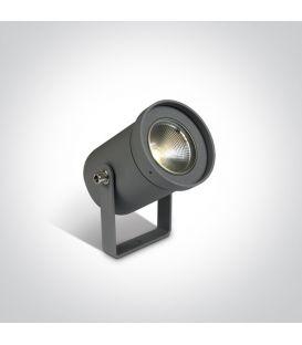 3W LED Įsmeigiamas šviestuvas IP65 Anthracite 67196A/AN/W