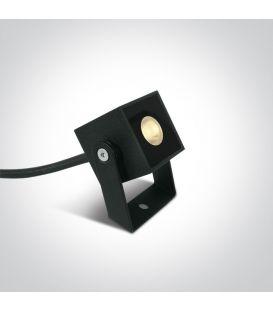 1W LED Įsmeigiamas šviestuvas IP65 Anthracite 7052B/AN/W
