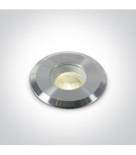 1W LED Įmontuojamas šviestuvas IP68 Steel 69066/C