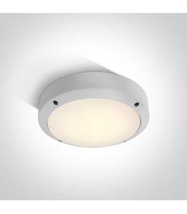 10W LED Lubinis šviestuvas White IP54 67442/W/W