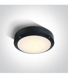 10W LED Lubinis šviestuvas Black IP54 67442/B/W
