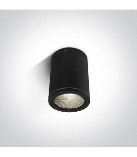 6W LED Lubinis šviestuvas IP54 Black 67138C/B/W