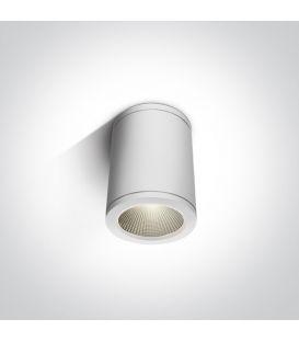 6W LED Lubinis šviestuvas IP54 White 67138C/W/W