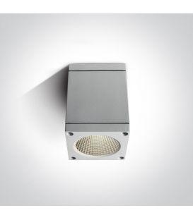 6W LED Lubinis šviestuvas IP54 White 67138D/W/W