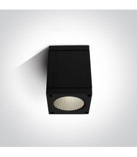6W LED Lubinis šviestuvas IP54 Black 67138D/B/W