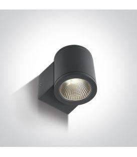 6W LED Sieninis šviestuvas IP54 Anthracite 67138E/AN/W
