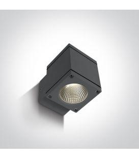 6W LED Sieninis šviestuvas IP54 Anthracite 67138F/AN/W