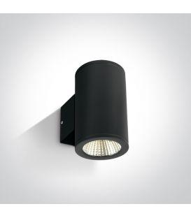 12W LED Sieninis šviestuvas IP54 Black 67138/B/W
