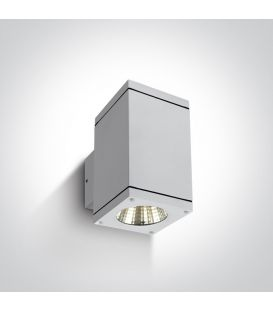 12W LED Sieninis šviestuvas IP54 White 67138A/W/W