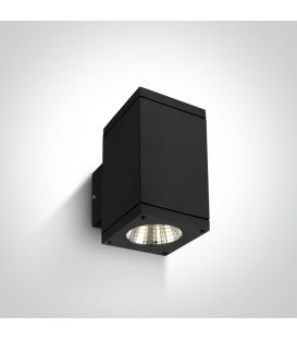 12W LED Sieninis šviestuvas IP54 Black 67138A/B/W