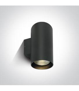 40W LED Sieninis šviestuvas IP65 Anthracite 3000K 67138L/AN/W