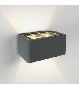 12W LED Sieninis šviestuvas Grey IP54 67342/G/W