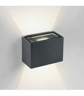 6W LED Sieninis šviestuvas IP54 Anthracite 67374/AN/W