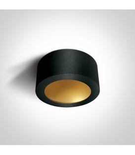16W LED Lubinis šviestuvas Black Ø17.5 12116FD/B/BS