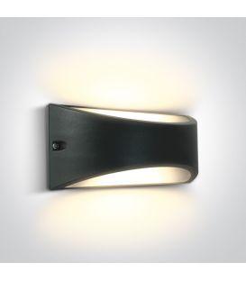 10W LED Sieninis šviestuvas Anthracite IP54 67474/AN/W