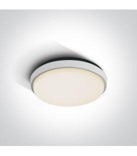 25W LED Lubinis šviestuvas White IP54 67362/W/W