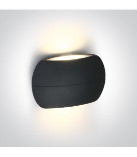 6W LED Sieninis šviestuvas IP54 Anthracite 67378/AN/W