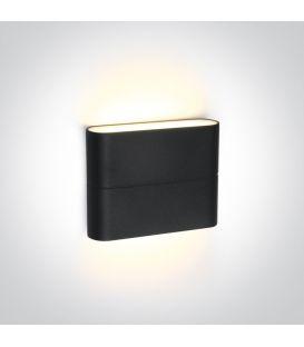 6W LED Sieninis šviestuvas IP54 Anthracite 67376/AN/W