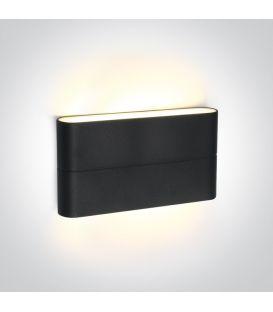 12W LED Sieninis šviestuvas IP54 Anthracite 67376A/AN/W
