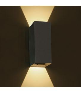 6W LED Sieninis šviestuvas IP54 Anthracite 67398A/AN/W