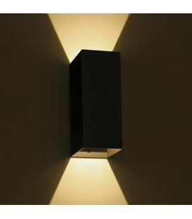 6W LED Sieninis šviestuvas IP54 Black 67398A/B/W