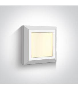 3.5W LED Sieninis šviestuvas IP65 White 67394A/W/W