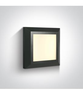 3.5W LED Sieninis šviestuvas IP65 Anthracite 67394A/AN/W