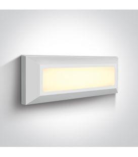 3.5W LED Sieninis šviestuvas IP65 White 67394/W/W