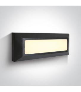 3.5W LED Sieninis šviestuvas IP65 Anthracite 67394/AN/W