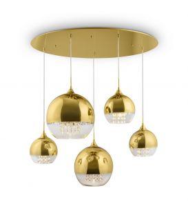Pakabinamas šviestuvas FERMI Gold P140-PL-170-5-G