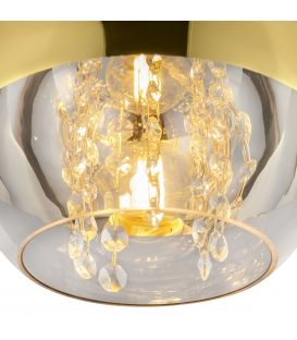 Pakabinamas šviestuvas FERMI Ø20 Gold P140-PL-110-1-G