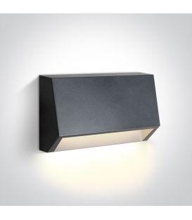 1.5W LED Sieninis šviestuvas IP65 Anthracite 67386A/AN/W