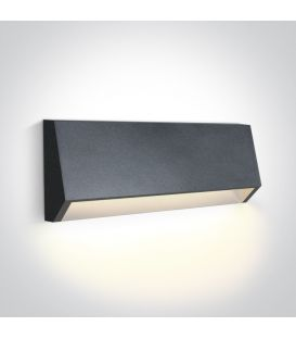 4W LED Sieninis šviestuvas IP65 Anthracite 67386C/AN/W