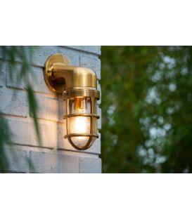 Sieninis šviestuvas DUDLEY Brass IP44 11892/01/02