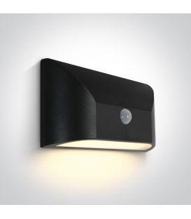 6W LED Šviestuvas su judesio davikliu IP65 Anthracite 67396A/AN/W