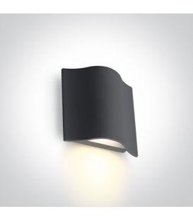 6W LED Sieninis šviestuvas Anthracite IP54 67422/AN/W