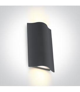 12W LED Sieninis šviestuvas Anthracite IP54 67422A/AN/W