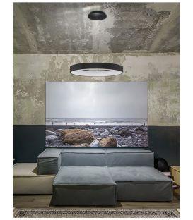50W LED Pakabinamas šviestuvas RANDO Ø60 Black Dimeriuojamas 9853044