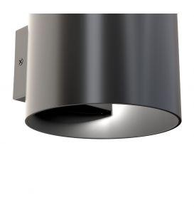 Sieninis šviestuvas ROND Black C066WL-01B