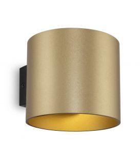 Sieninis šviestuvas ROND Gold C066WL-01MG