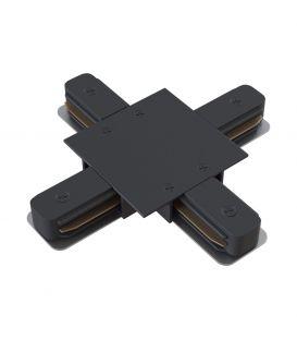 Bėgelio MAYTONI 1F X formos sujungimas Black TRA002CX-11B
