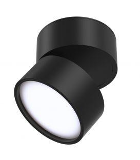 12W LED Lubinis šviestuvas ONDA Black 4000K C024CL-L12B4K