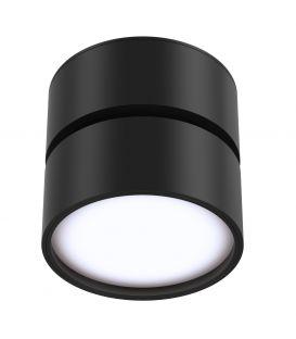 12W LED Lubinis šviestuvas ONDA Black 3000K C024CL-L12B3K