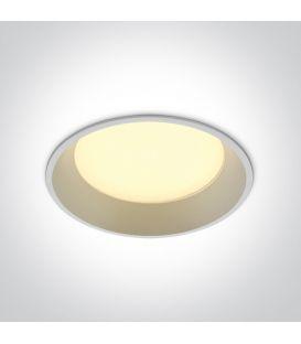 22W LED Įmontuojamas šviestuvas DARK LIGHT White 3000K 10122D/W/W