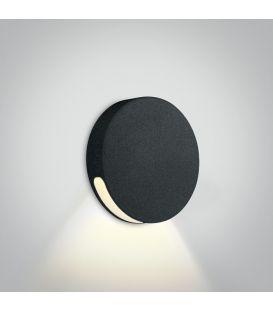 2W LED Įmontuojamas šviestuvas IP65 Black 3000K 68074/B/W