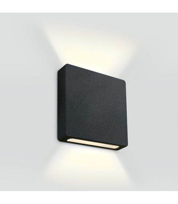 2W LED Įmontuojamas šviestuvas IP65 Black 3000K 68074B/B/W